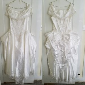 Wendy's Bridal Beaded Princess Wedding Dress 14